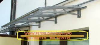 pensilina tettoia in policarbonato plexiglass pensilina tettoia in policarbonato plexiglas su misura belluno ve