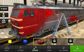 train mechanic simulator workshop garage 2017 android apps on