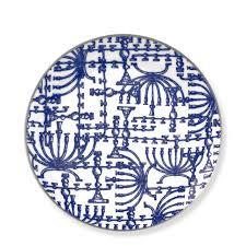 hanukkah tableware williams sonoma hanukkah plates set of 4 wrinkle