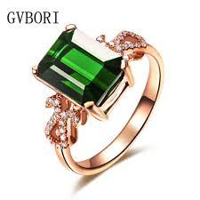 green gemstone rings images Luxury classic gvbori 18k gold natural emerald green gemstone jpg