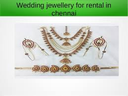wedding jewellery for rent best bridal jewellery for rent in chennai