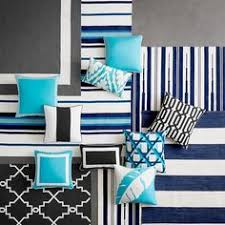 williams sonoma black friday stylehaven striped blue ivory indoor outdoor area rug 8 u00276x13