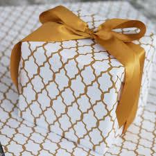 designer wrapping paper designer wrapping paper sheets in moroccan casablanca print