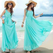 online shop boho people 2015 vestido summer style long chiffon