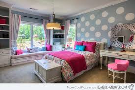 How To Design Bedroom Interior How To Design Bedroom Walls With Polka Dots And Circles Home