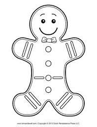 25 gingerbread man template ideas