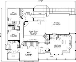 Slab Foundation Floor Plans 3 Bedroom 2 Bath Bungalow House Plan Alp 09ec Allplans Com