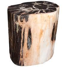 petrified wood side table pieced petrified wood side table me