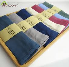 aliexpress buy hakoona clerance 100 cotton napkins simple