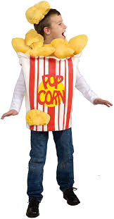halloween childrens costumes amazon com forum novelties kid kernel child popcorn costume toys