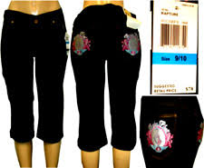 baby phat classic capri cropped jeans for women ebay