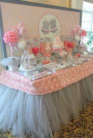 Ideas For Black Pink And Tutu Cute Baby Shower Party Ideas Baby Shower Parties Shower