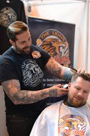 tom chapman the hairdresser behind the lions barber collective