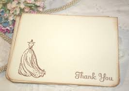 bridal shower thank you cards templates ideas invitations templates