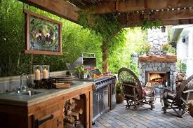 outside kitchen ideas extraordinary the outdoor kitchen 7 20091 home ideas gallery