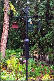 bird feeder pole system stephi gardens