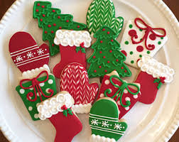 decorated christmas cookies image result for decorated christmas cookies green