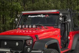Led Vehicle Light Bar by Buy Rugged Ridge Led Light Bar 50 Inch 144 Watt At Get4x4parts