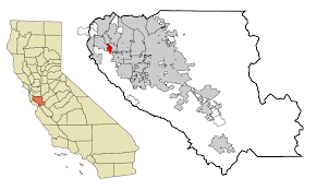 Gilroy Zip Code Map by Loyola California Wikipedia