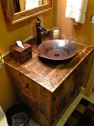 bathroom contemporary rustic accessories classy tone for elegance