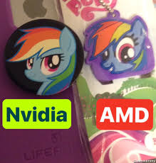 Amd Meme - 1639040 amd meme nvidia rainbow dash safe derpibooru my