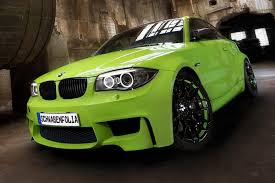 bmw 4 series sitting pretty lime green bmw 1m coupe from schwabenfolia photo gallery