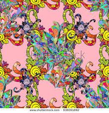 vector gift voucher template mandala ornament stock vector