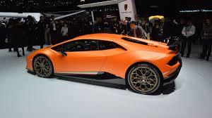 Lamborghini Huracan With Spoiler - lamborghini huracan performante has the brand u0027s most powerful v10 ever