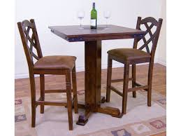 slate dining room table sunny designs bar and game room santa fe pub table with slate