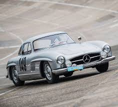 1955 mercedes benz 300 sl gullwing factory prepped racer joins rm