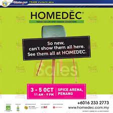 homedec home decor u0026 design exhibition at spice penang