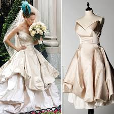 vivienne westwood wedding dresses 2010 carrie bradshaw wedding gown by vivienne westwood sold out