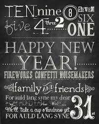 New Year Decoration On Blackboard by New Years Chalkboard Free Printables The 36th Avenue