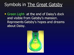 four symbols in the great gatsby the 1920s and the american dream the great gatsby ppt video