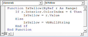 extract specific color index using vba microsoft excel tips from