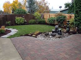 Backyard Trees Landscaping Ideas Triyae Com U003d Low Maintenance Backyard Trees Various Design