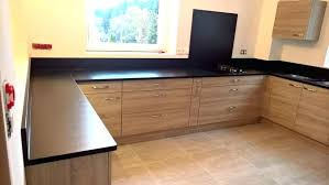 poser un plan de travail de cuisine pose plan de travail cuisine cuisine granit noir 2016 10 15 6 pose