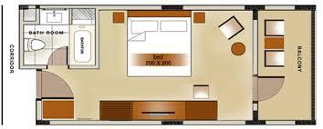 layout denah cafe deluxe room bali rani hotel