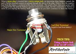 electric guitar input jack wiring diagram wiring diagram simonand