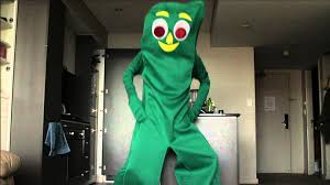 Gumby Halloween Costume Oppan Gumby Style