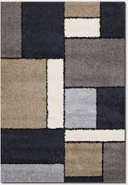 Large Modern Rug Moonwalk Stonewall 4040 0001 Blue Rug From The Belgium Rugs