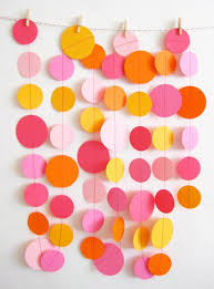 Party Decoration Ideas Circle Garlands 8 Fabulous Diy Party Decoration Ideas U2026
