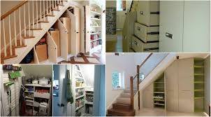 charming under the stairs closet organization images best