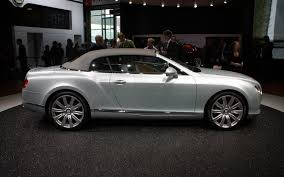bentley all black file silver bentley new continental gtc r op iaa 2011 jpg
