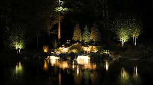 8 examples of inspiring landscape lighting turf