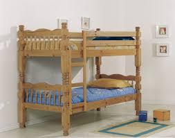 Solid Pine Bunk Beds Verona Trieste 3ft Pine Bunk Beds Bedframeshop Co Uk