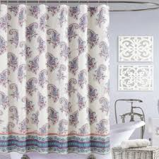 Purple And Brown Shower Curtain Buy Paisley Shower Curtain From Bed Bath U0026 Beyond