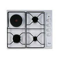 cuisiner au gaz ou à l électricité table de cuisson mixte achat plaque de cuisson mixte pas cher