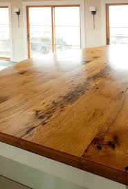 Laminate Flooring As Countertop Longleaf Lumber Reclaimed Oak Countertop