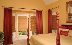 Master Bedroom Interior Design Red Red Brown Master Bedroom Window Treatments Mixed Yellow Wall Color